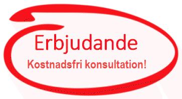 Erbjudande om kostnadsfri gratis konsultation